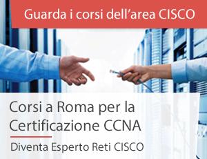 Corsi Roma Cisco